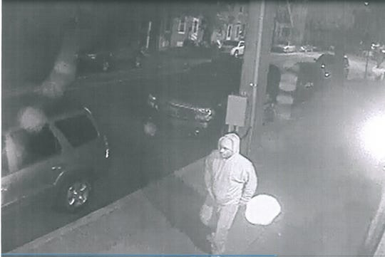 The York City Police Department is asking for the public's help in identifying two men who considered suspects in a fire that authorities say was intentionally set on Sept. 16 on West King Street near South Newberry Street.