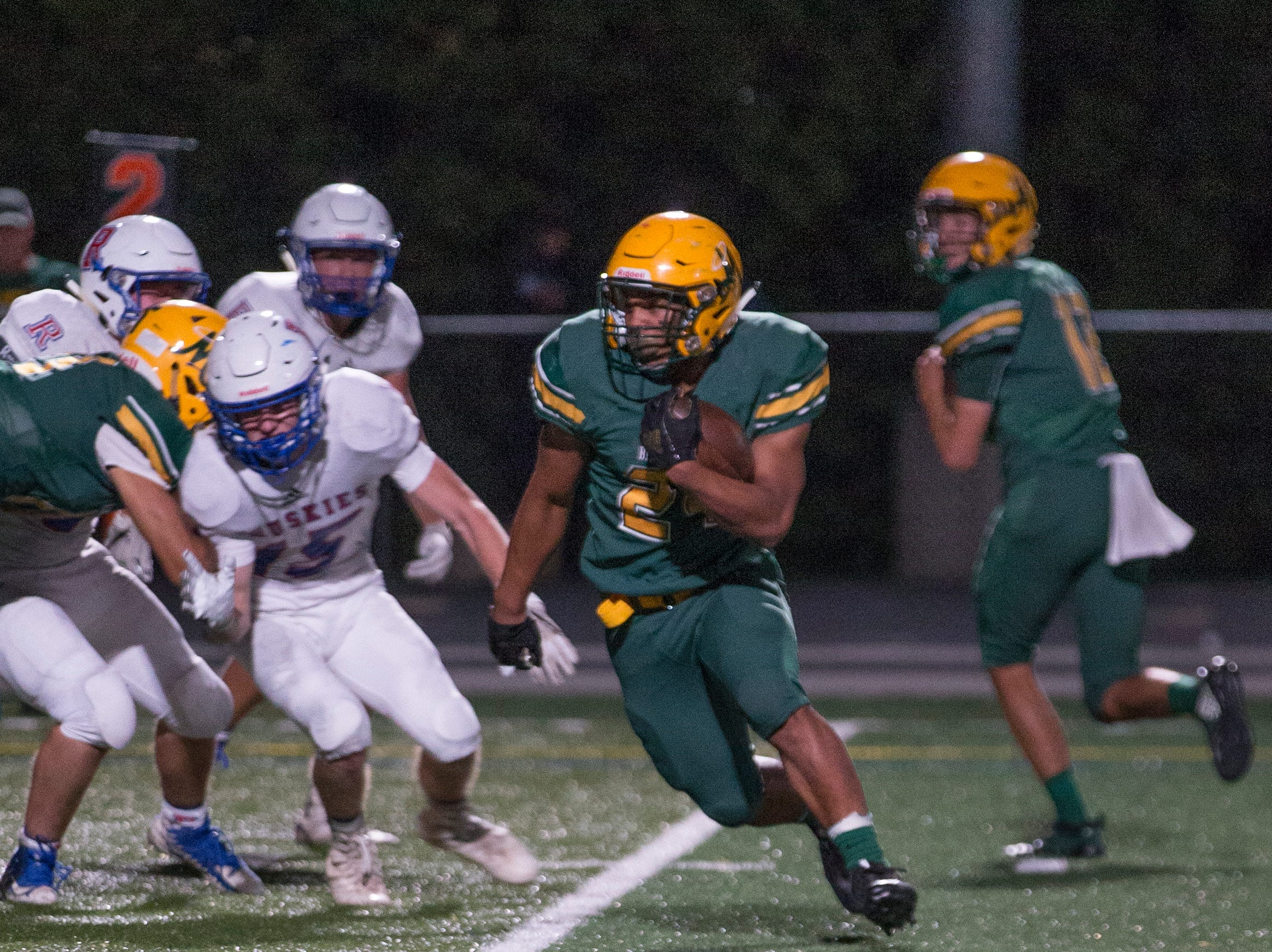 Prep football: Reno at Bishop Manogue
