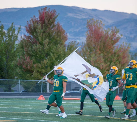 Bishop Manogue has won the past two Northern 4A Regional football titles.