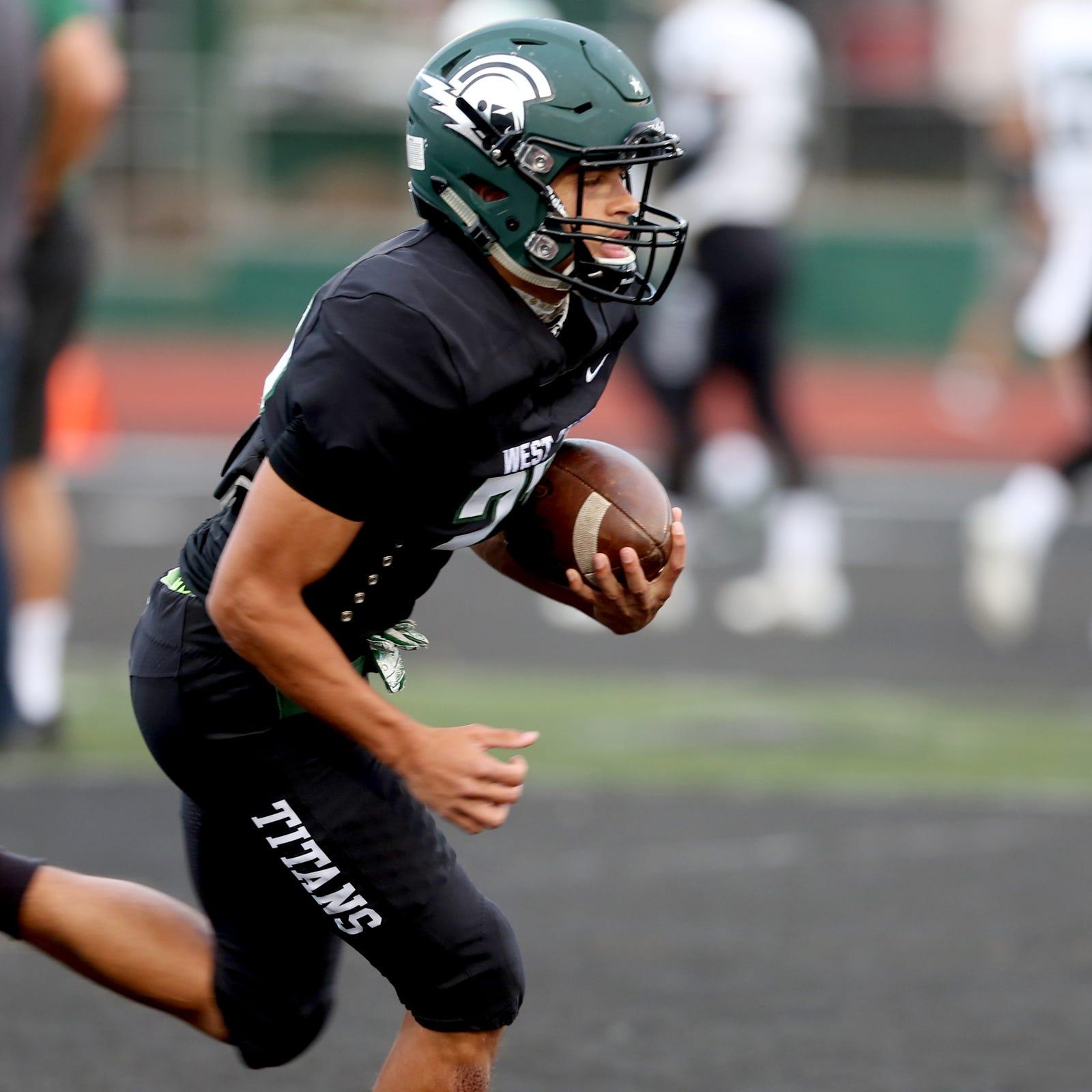 West Salem football loses big to Sheldon