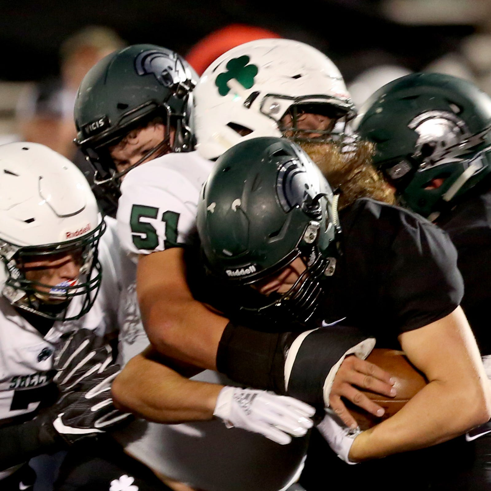 West Salem football loses big to Sheldon