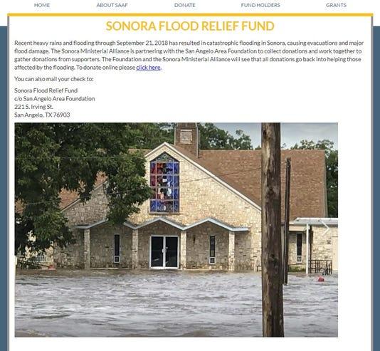 Sonora Flooding