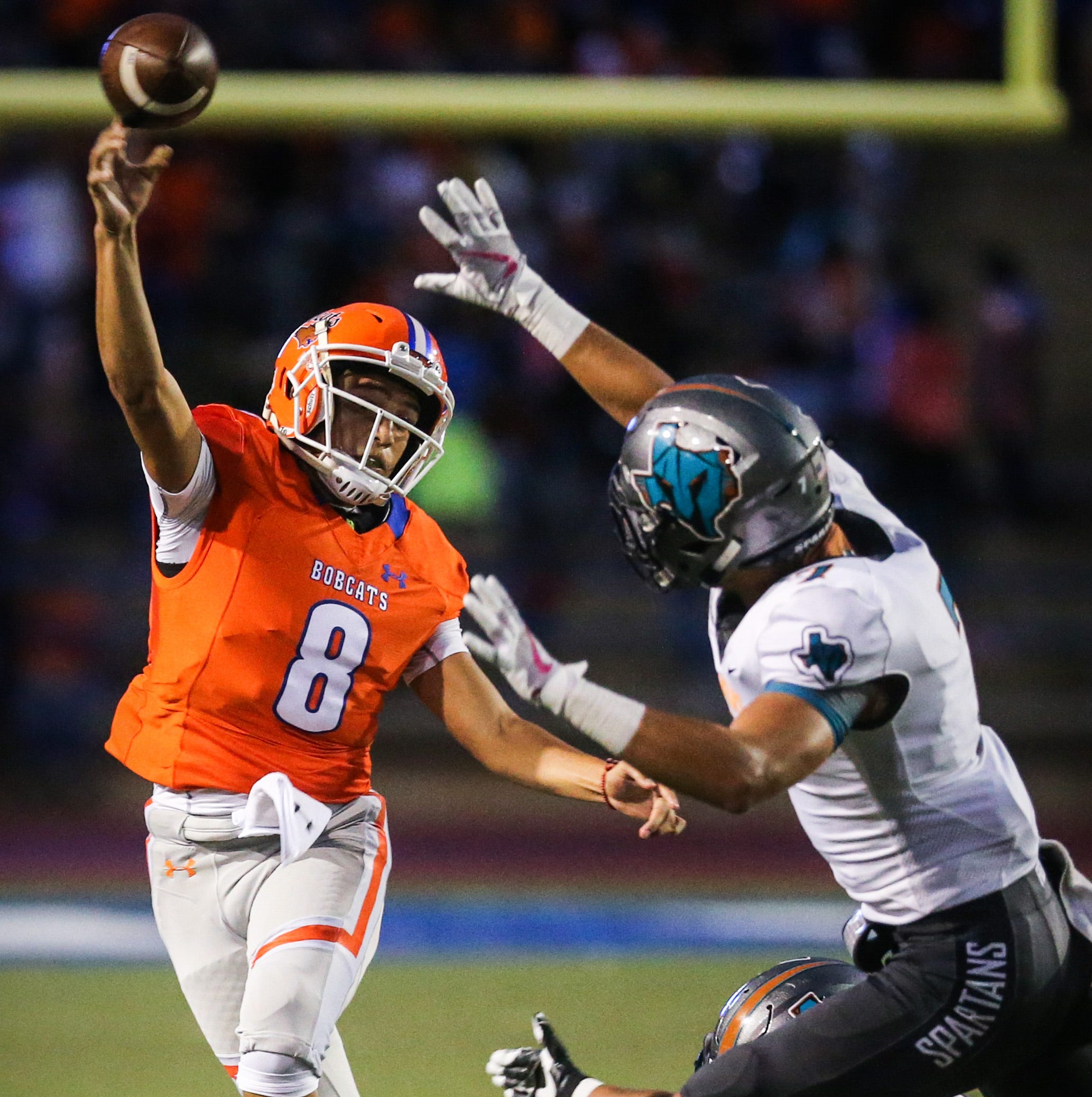 Brown leads Bobcats to homecoming win over Pebble Hills