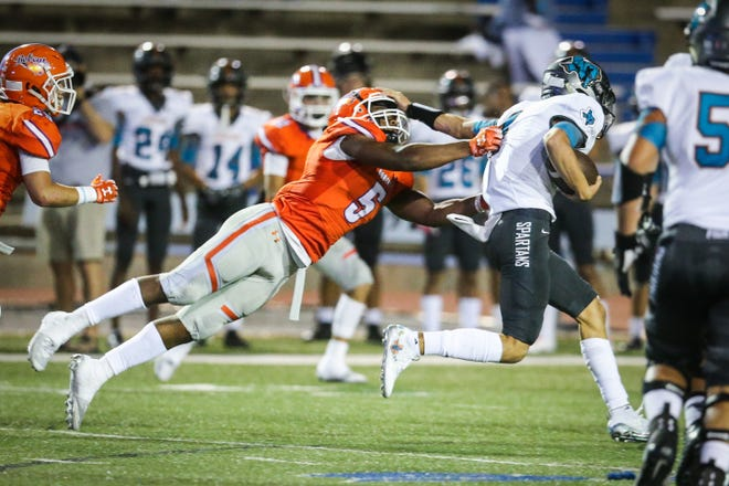 San Angelo Central senior linebacker Daylon Green is the leader of the Bobcats' defense, and he played a huge role in Central's 17-15 win on the road against Abilene High last week.