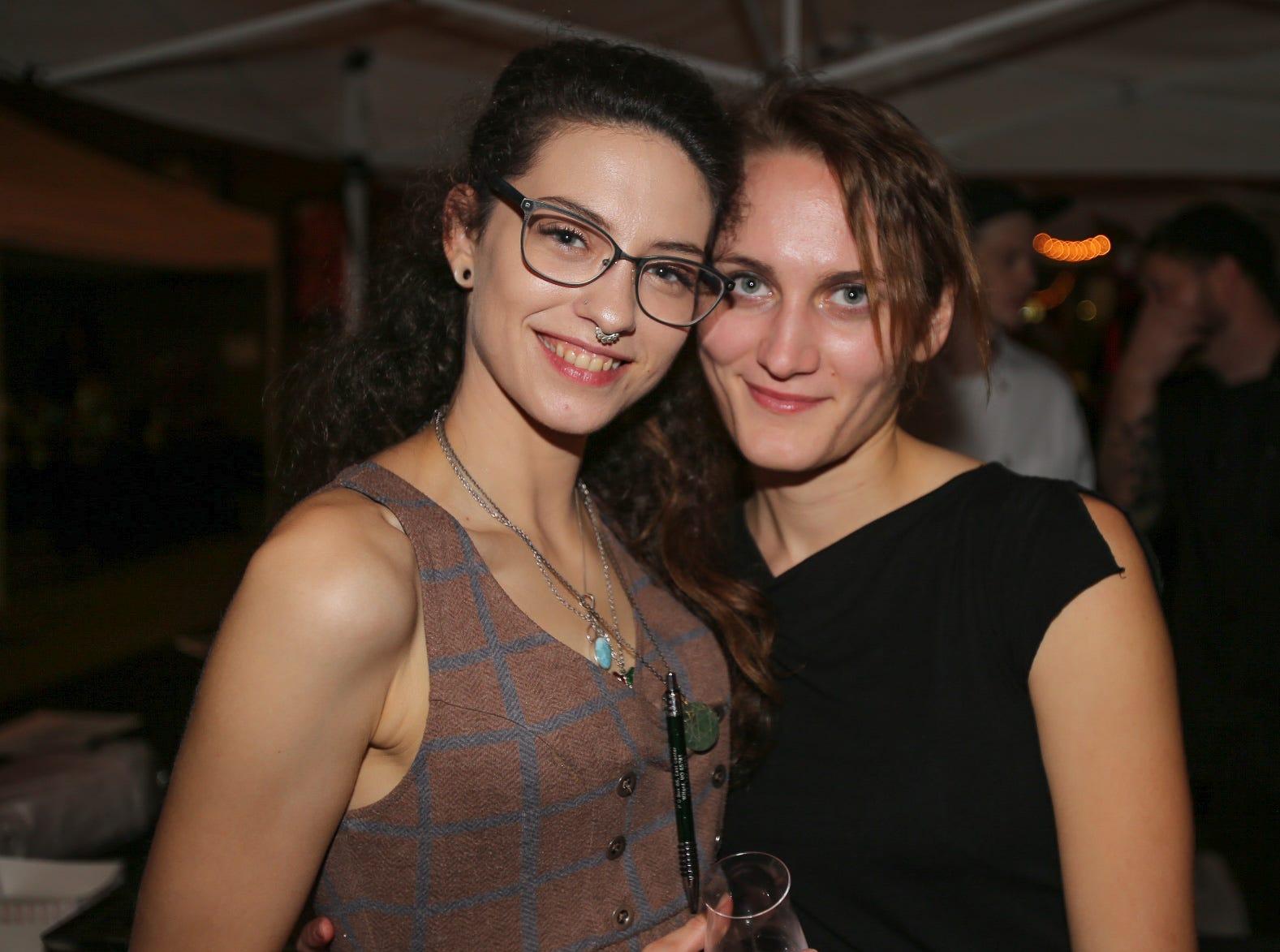 Caity Joyce and Emily Johns