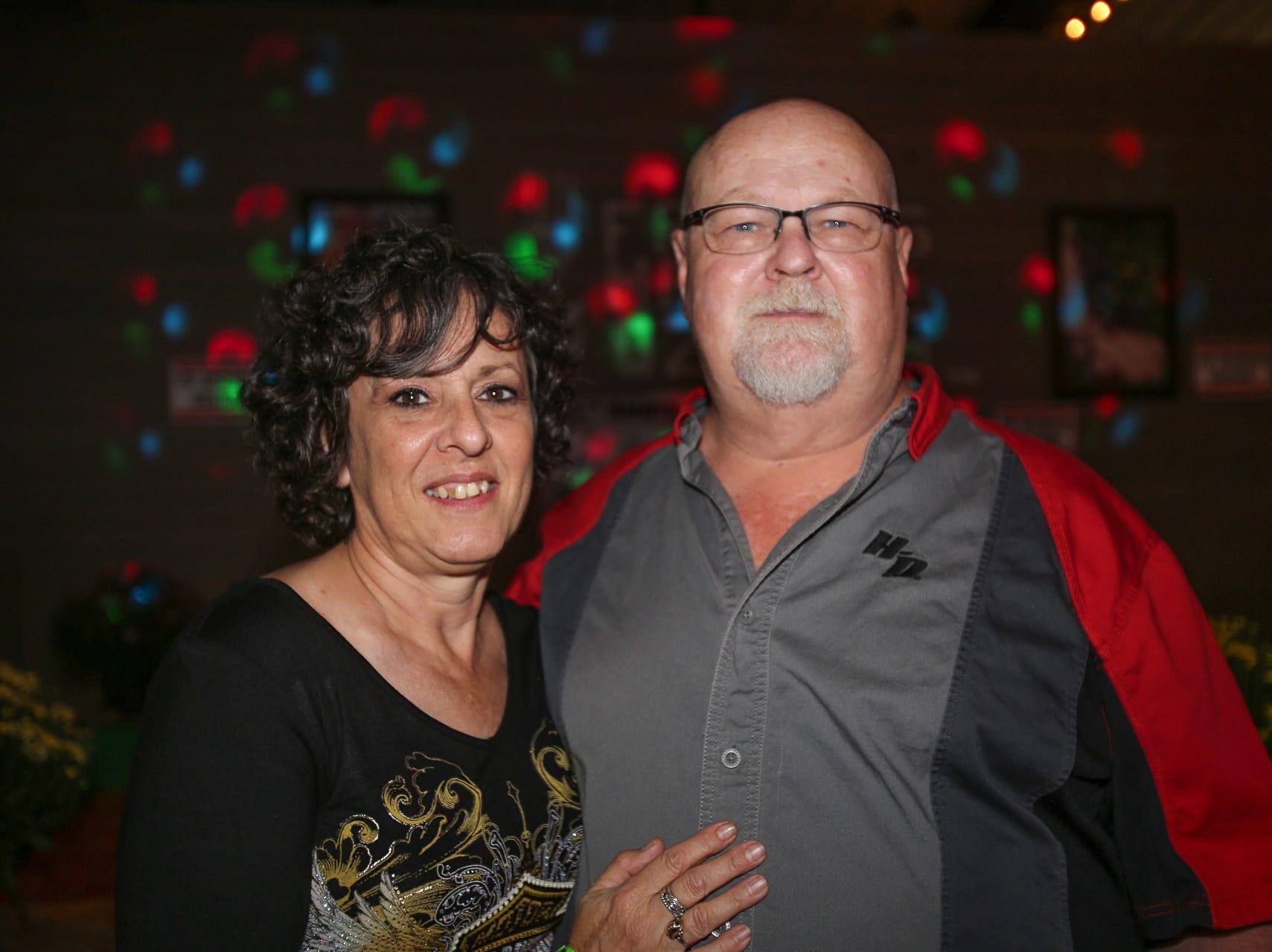 Marie and Dwayne Lovan