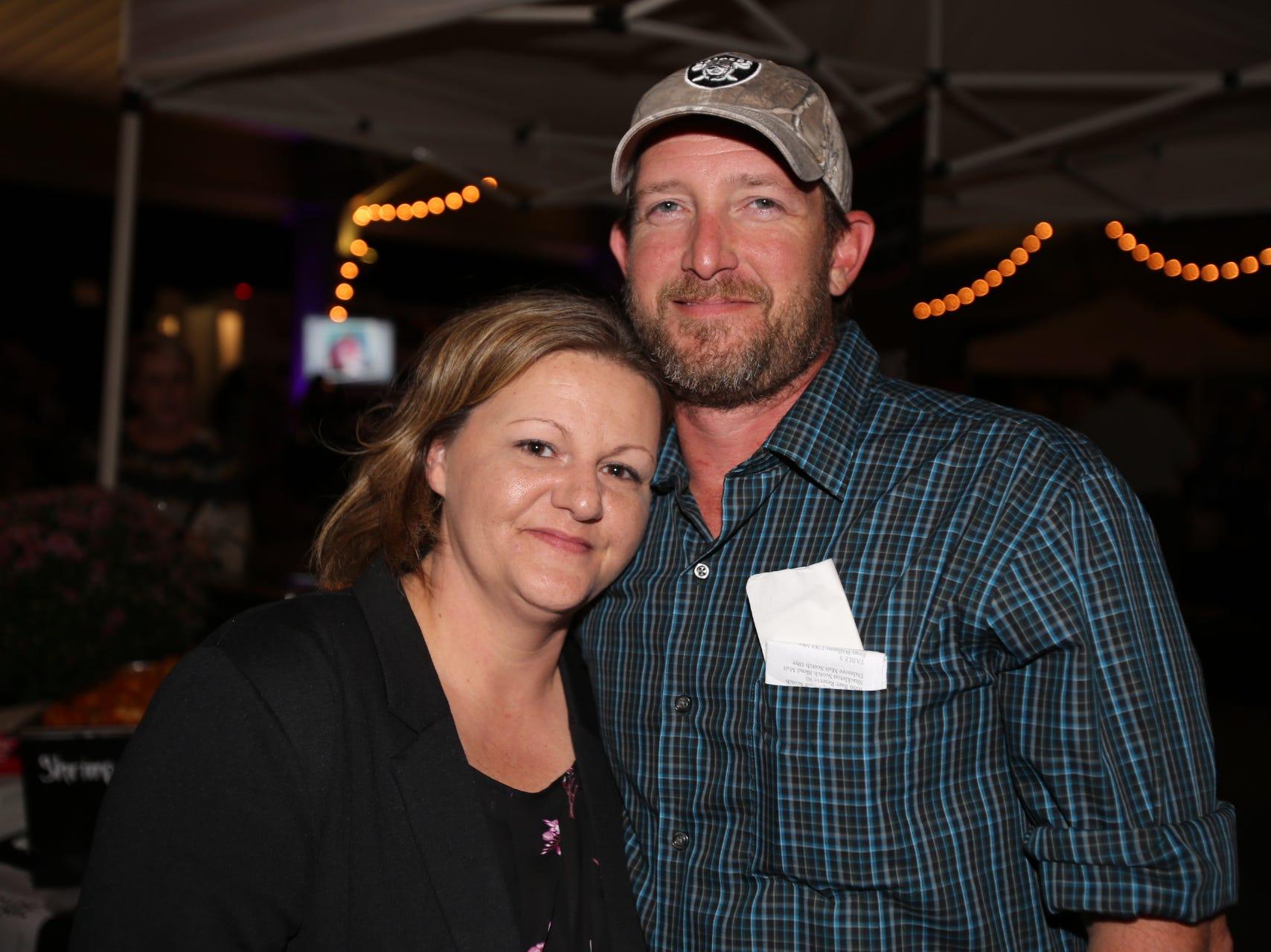 Amy and Steve Harris