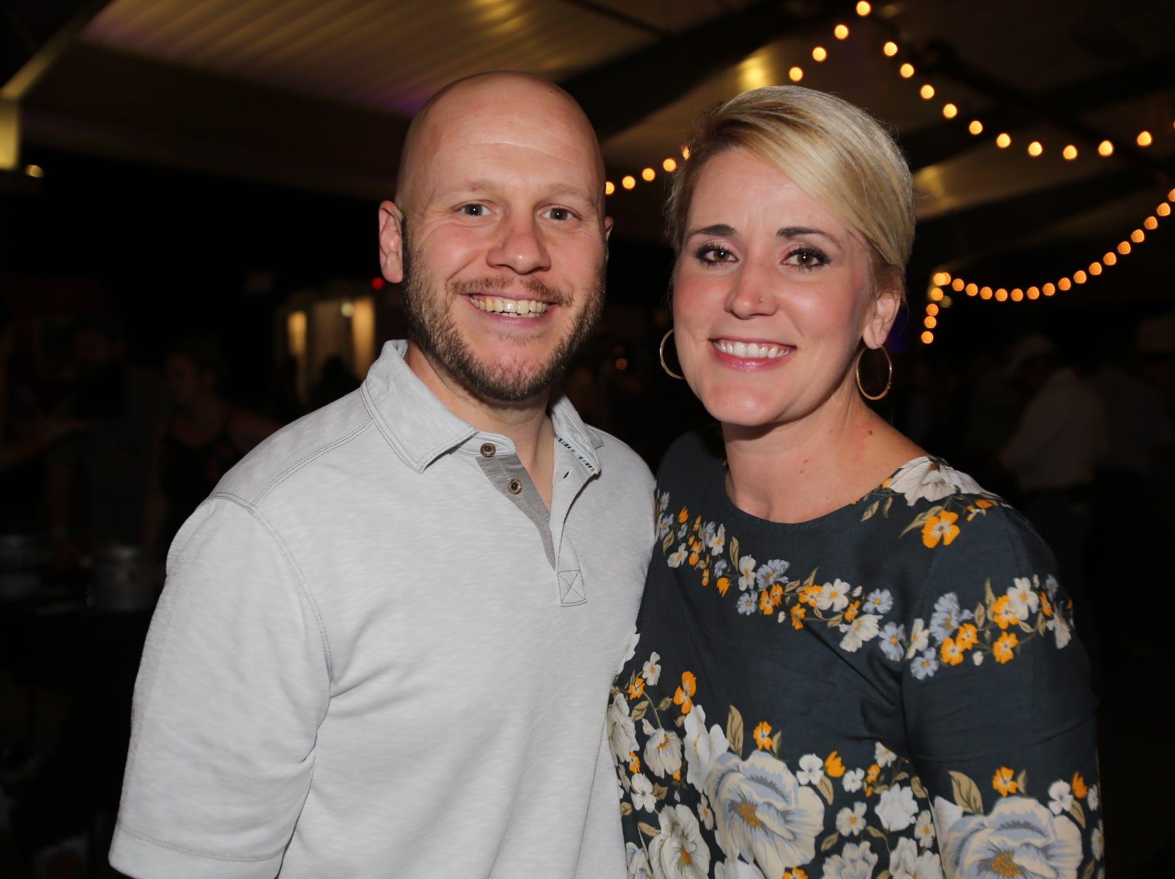 Amanda and Aaron Swanson