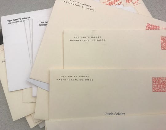 Justin Schultz has received at least 24 letters from the White House.