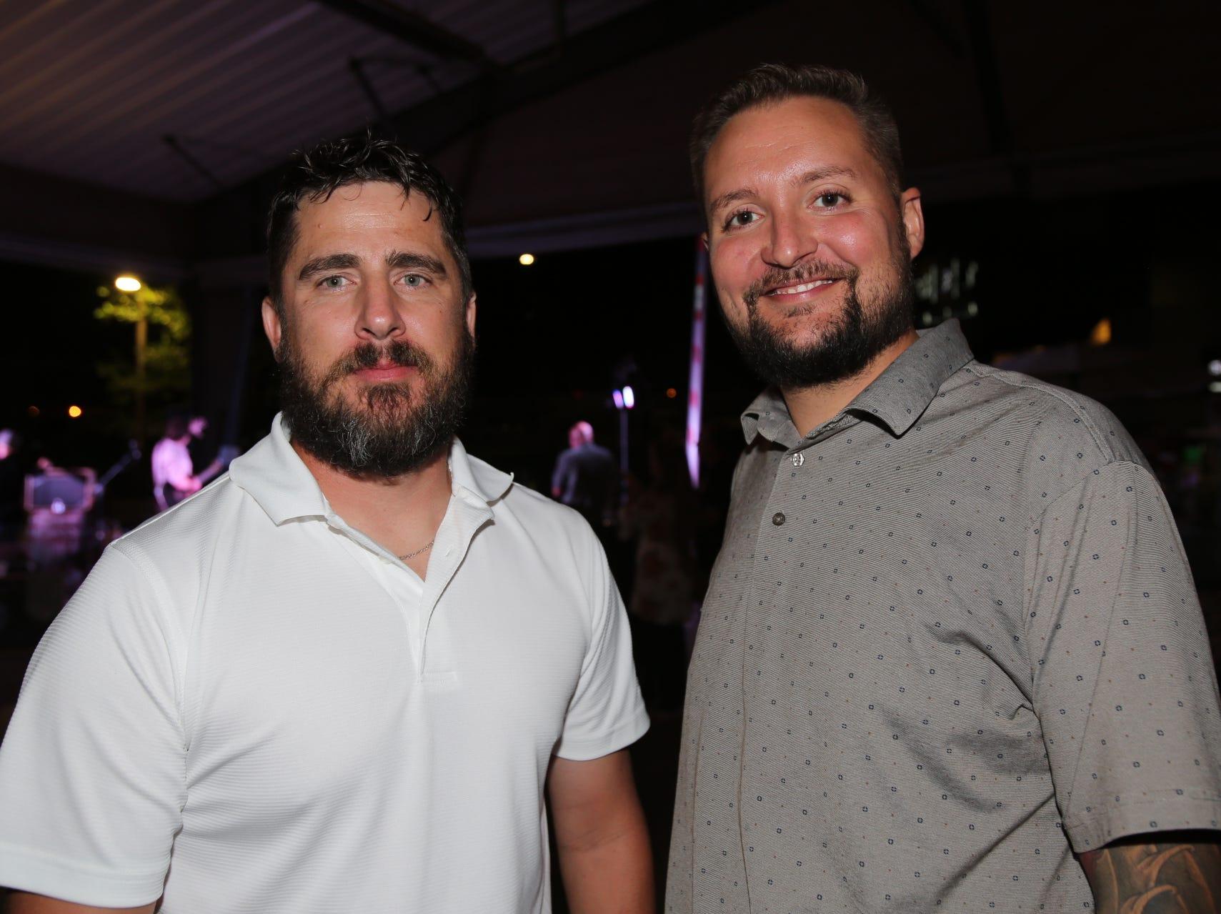 Chris Lee and Hayden Wilcox