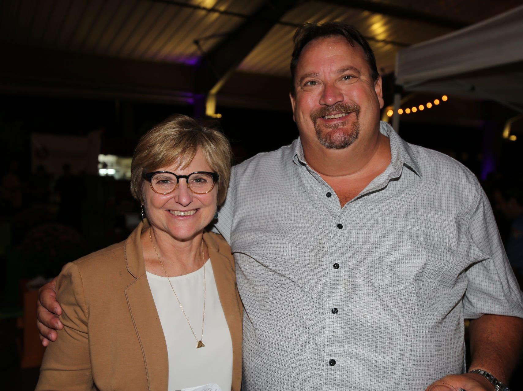 Judy Hadsall and John Widiger