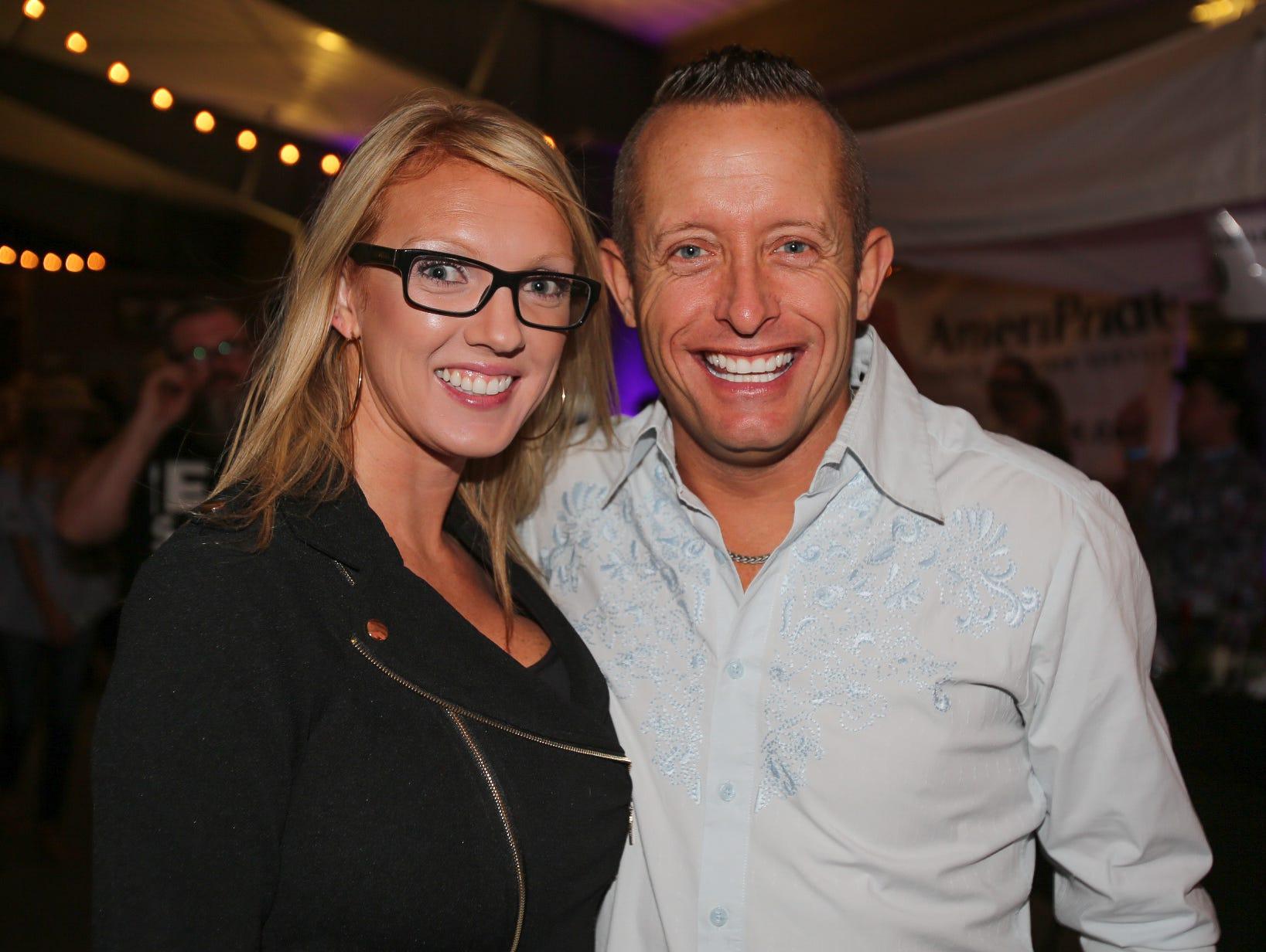 Dana Goldsmith and Shawn Clawson