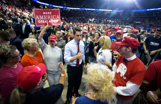 Josh Hawley President Donald Trump rally