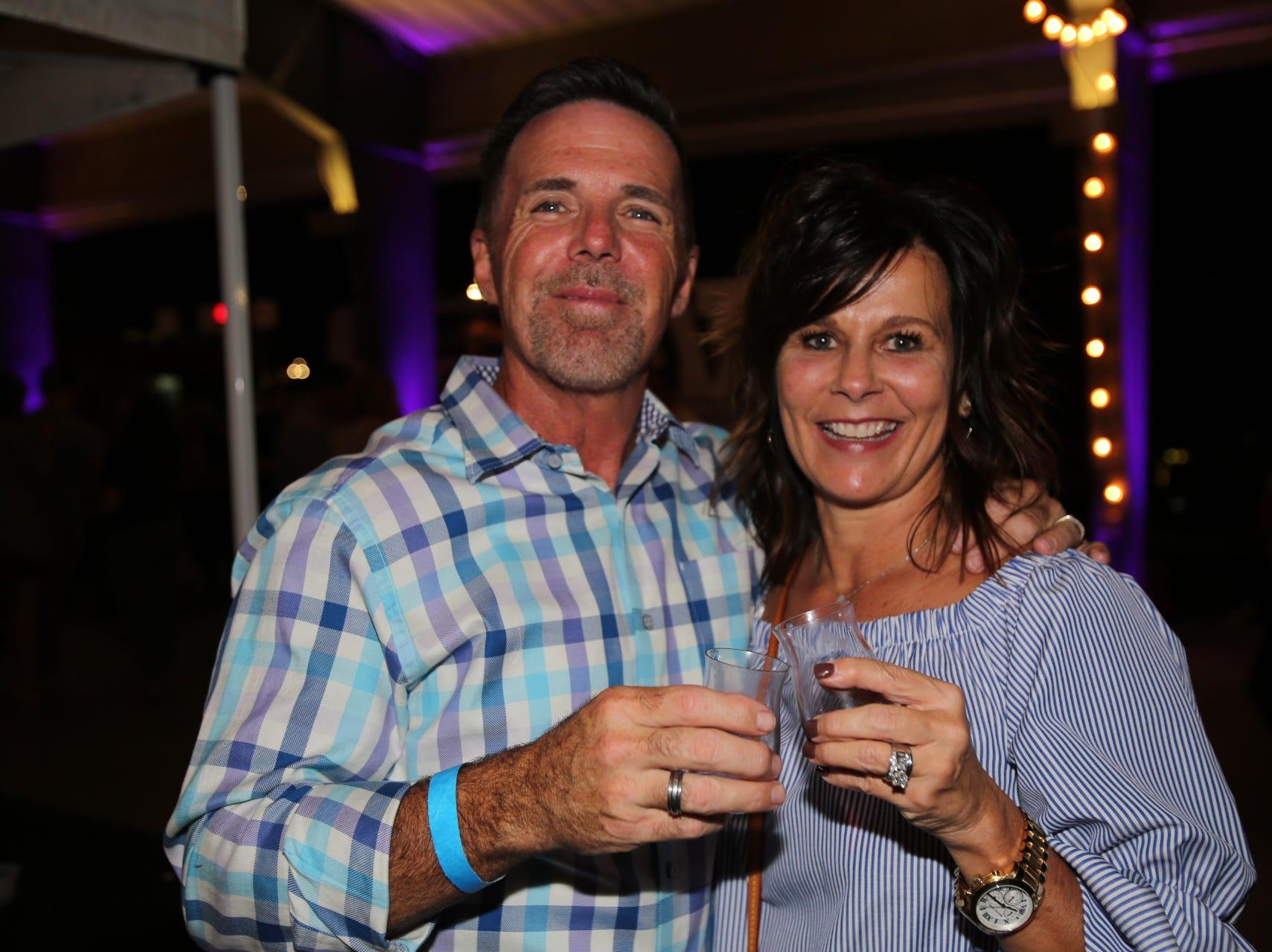 Tony and Kim Laffoon