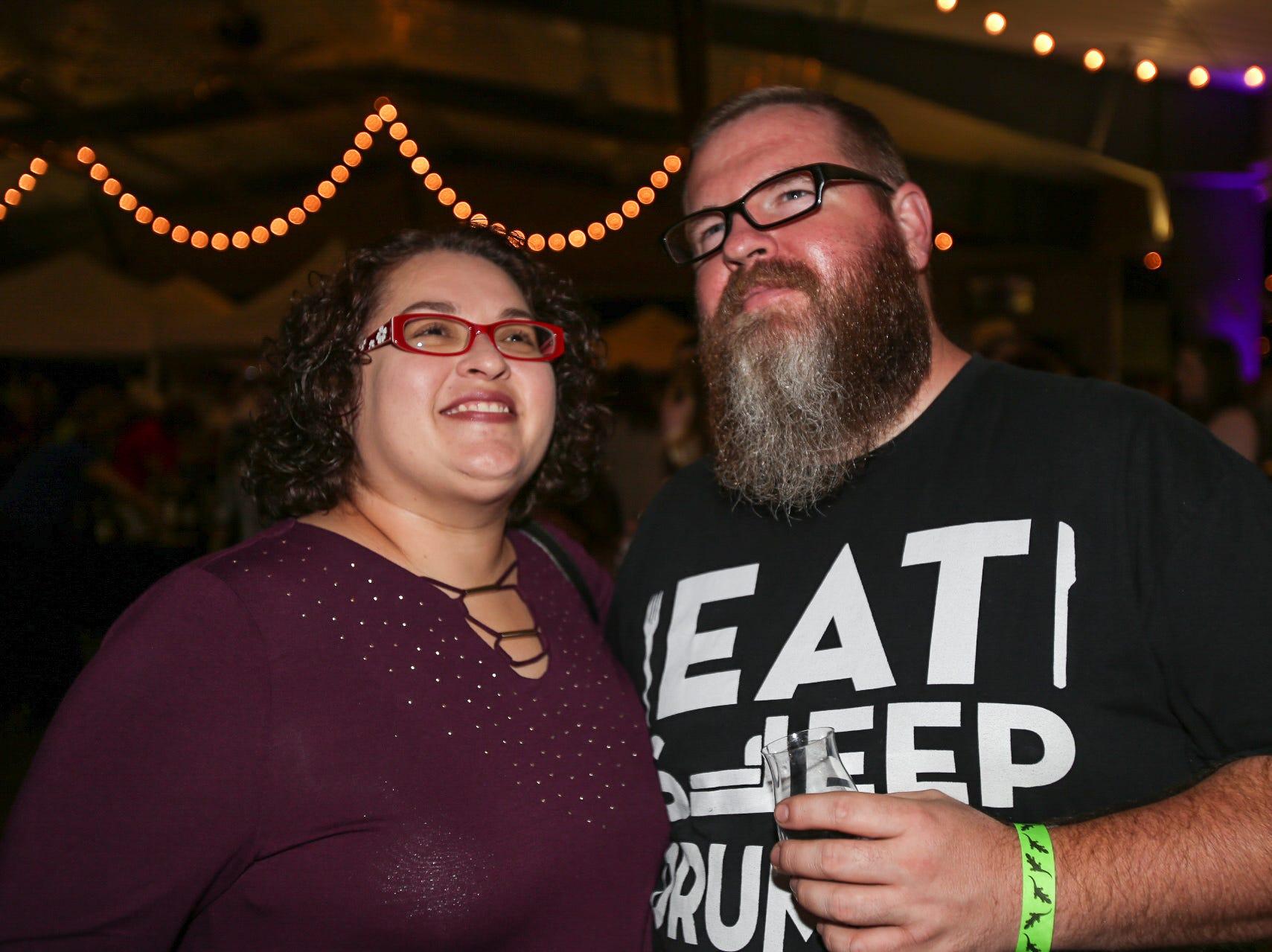 Angela and Patrick Elkins