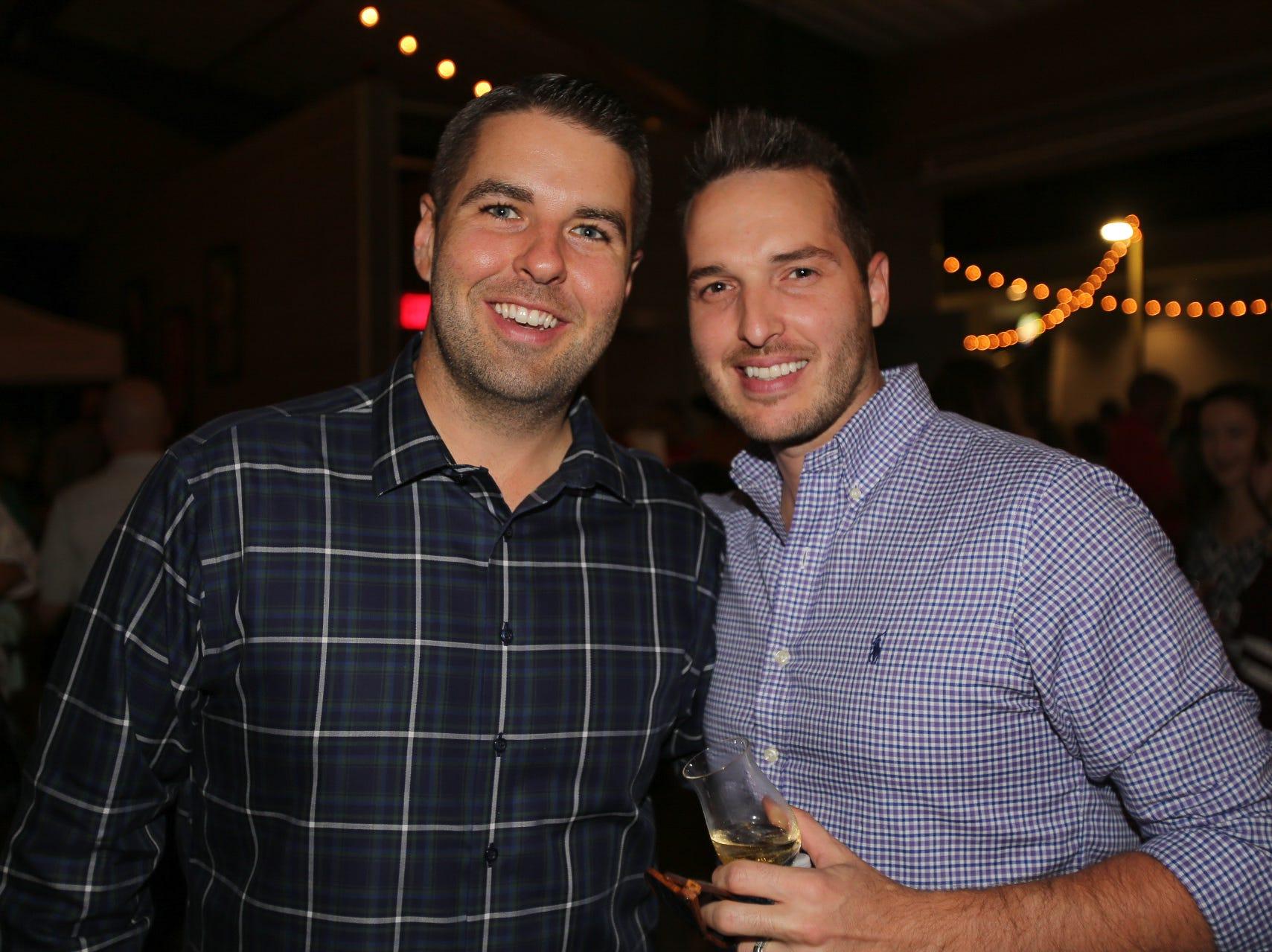 Brandon Adamick and Wes Castillo