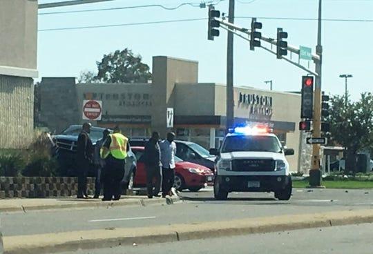 PepperJax crash caused by 2-car crash
