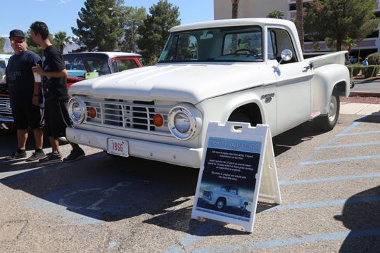 Gary Suppe's 1966 Dodge D-100 made its first appearance at the Mesquite Super Run on Sept. 21, 2018.