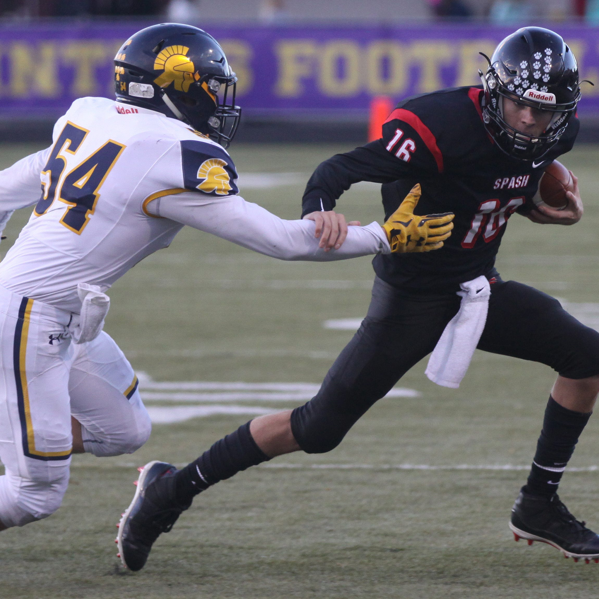 High school football: SPASH breaks into win column with shutout over Wausau West