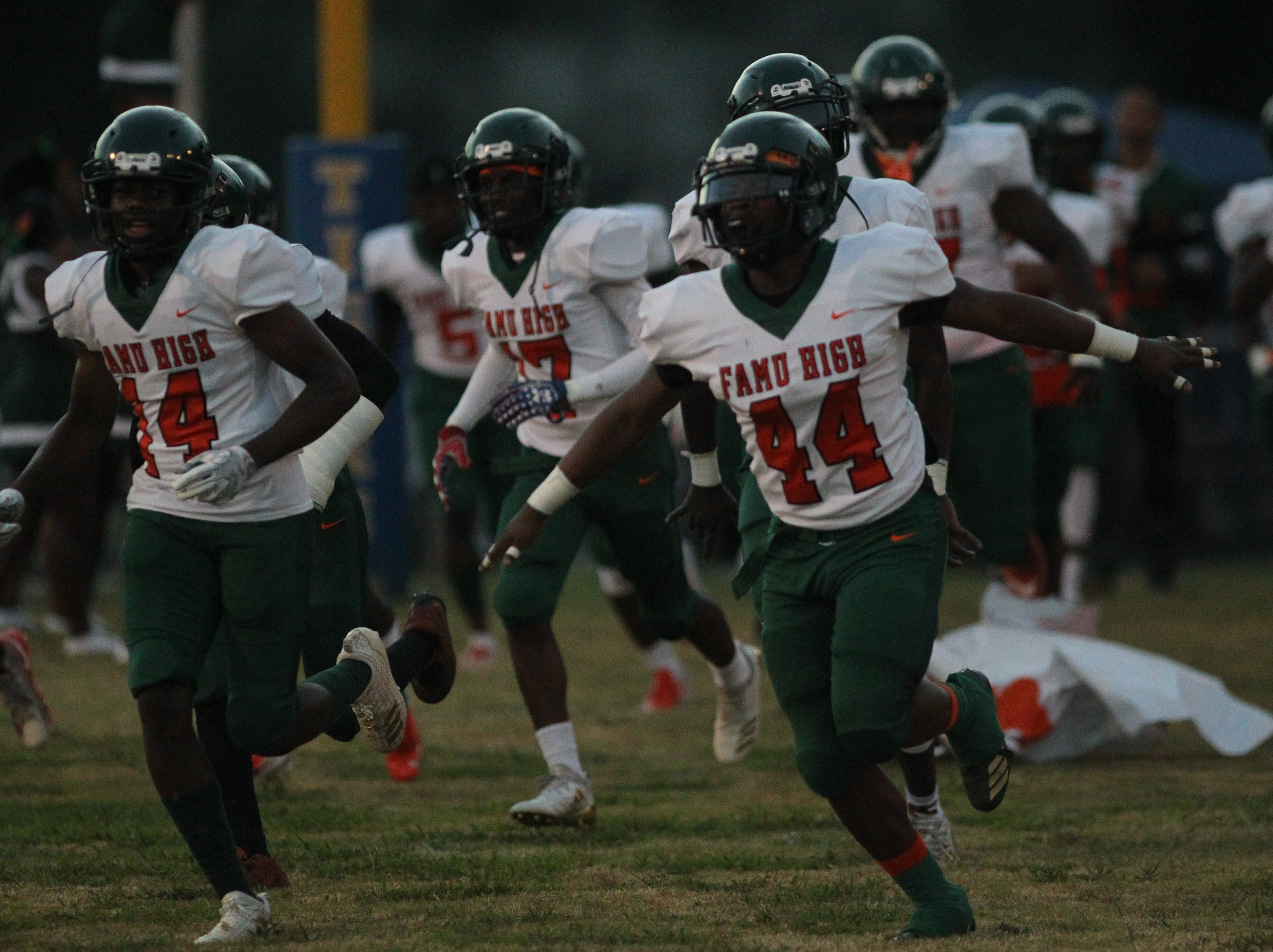 FAMU DRS plays at Jefferson County in a high school football game on Friday, Sept. 21, 2018.