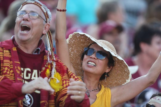 Fall football attracts thousands of visitors who fill Doak Campbell Stadium for Seminole games.