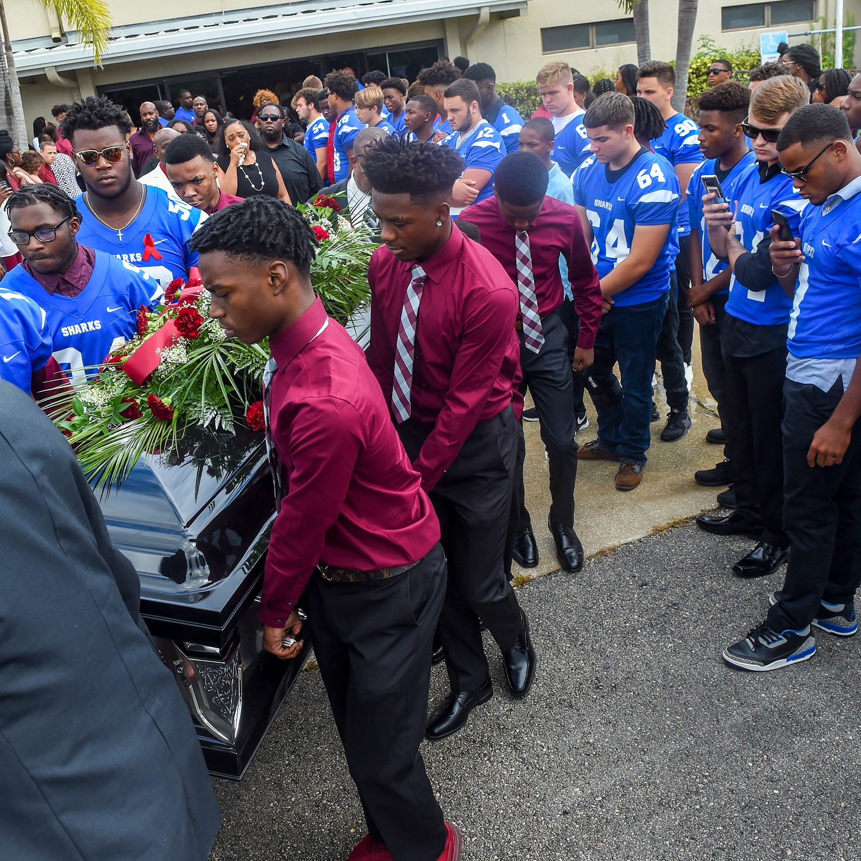 Kamaree Lyons' funeral: A final farewell; friends, family say they won't forget Sebastian teen