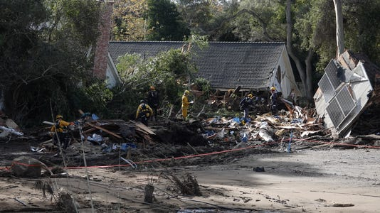 #stockphoto disaster Montecito