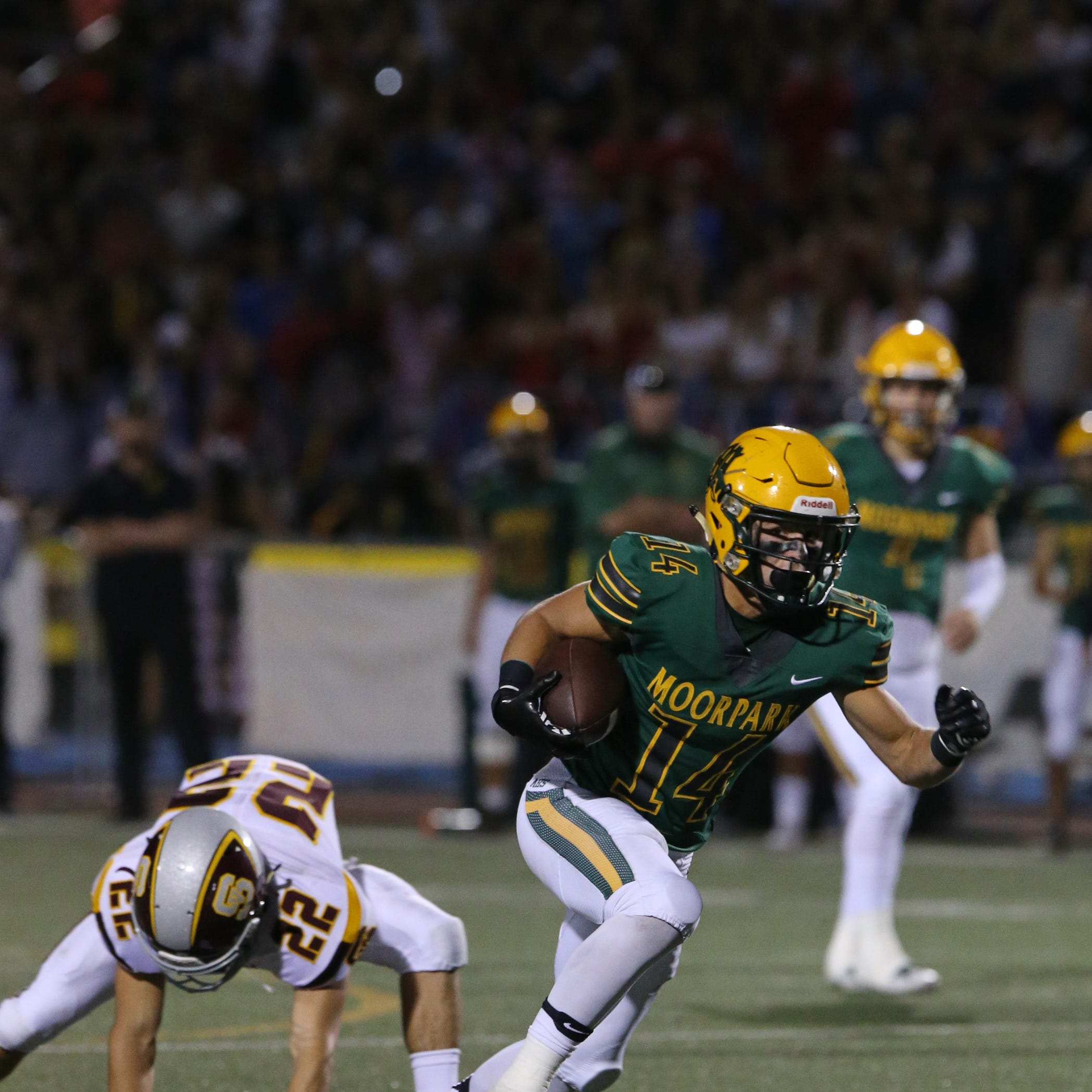 Moorpark rebounds from first loss with rout of Simi Valley