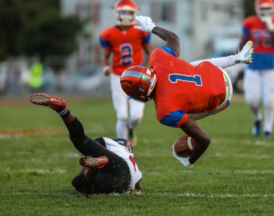 The Millville football team defeated Kingsway, 26-7, at Millville High School on Friday September 21, 2018.
