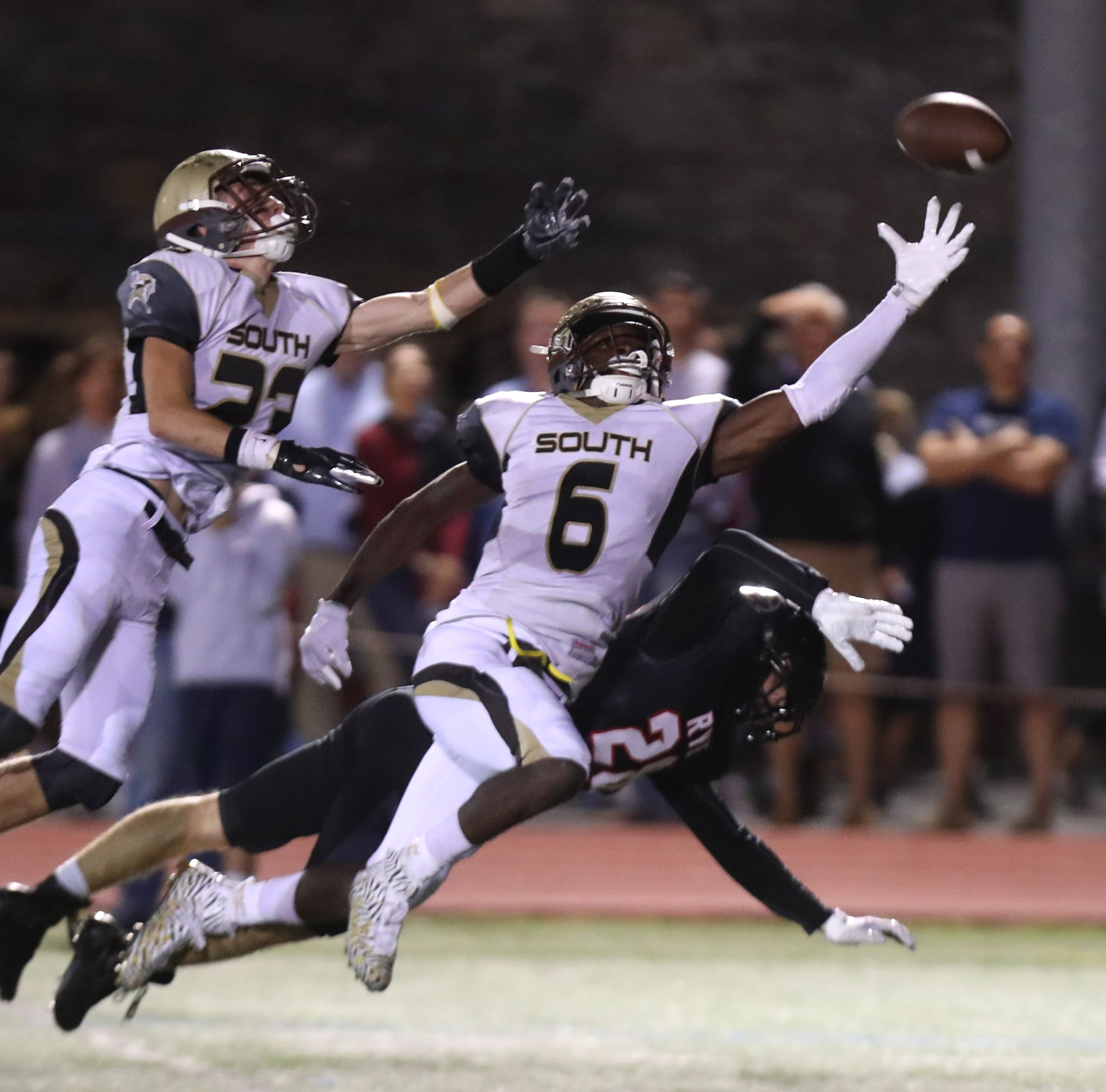 Football: Clarkstown South undeterred, rolls past Rye 49-28