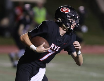 Clarkstown South football won 49-28 at Rye Sept. 21, 2018.