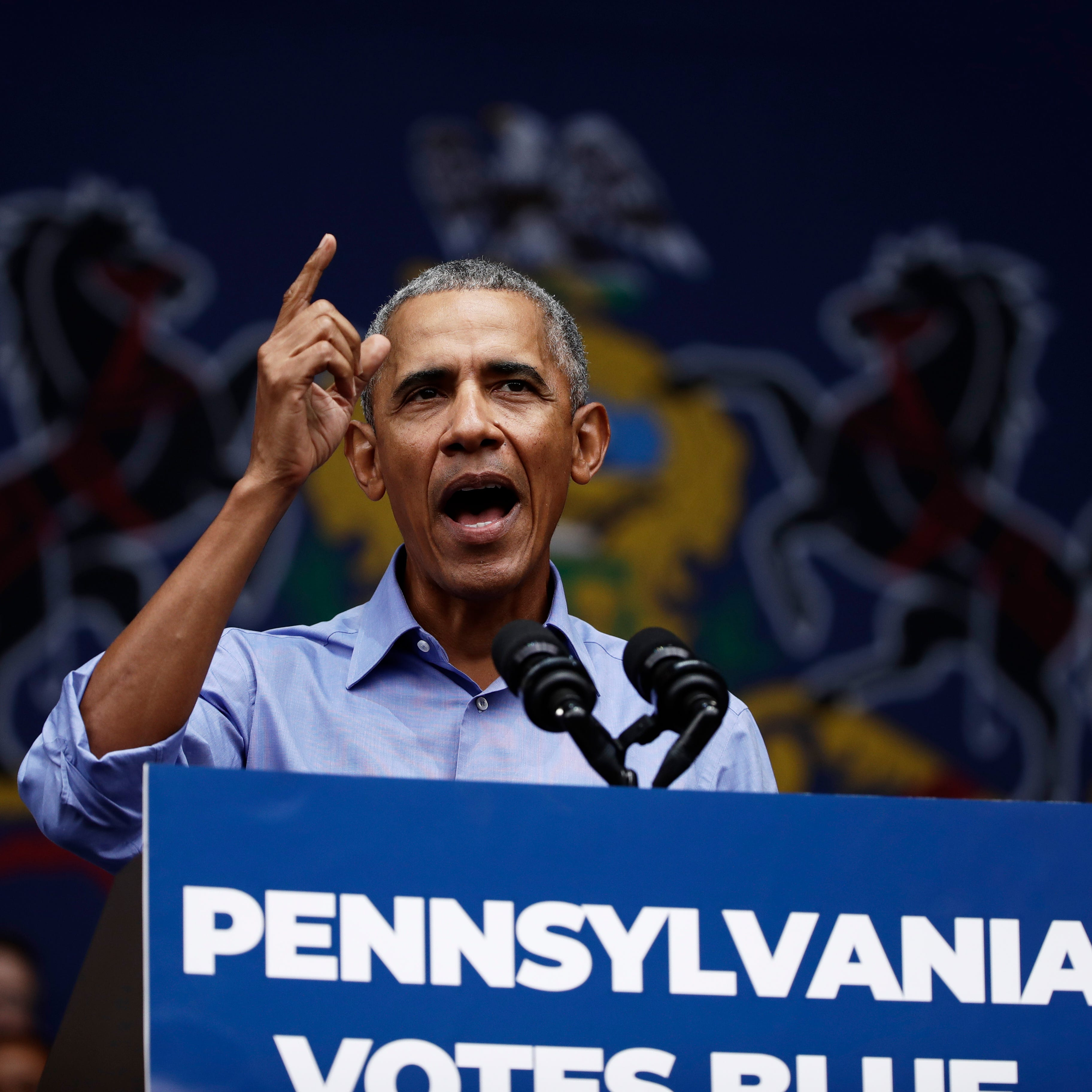 Barack Obama in Philly: Here's everyone he took to task in his stump speech