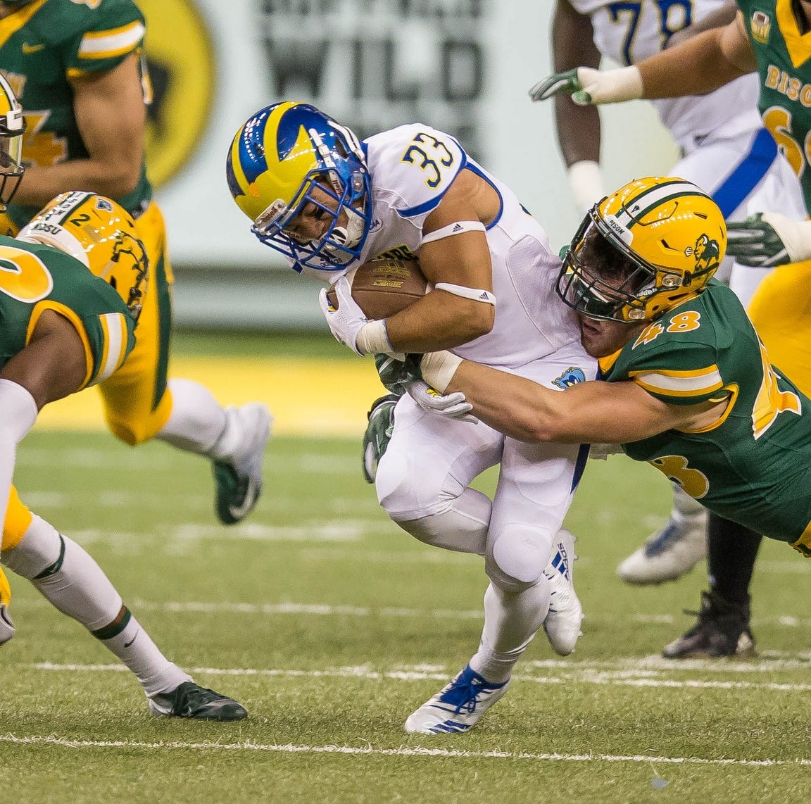 Big first quarter paves the way for North Dakota State in win over Delaware