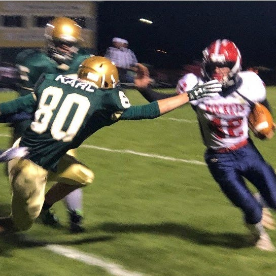 High school football: Spencer/Columbus Catholic routs Colby in Cloverbelt showdown