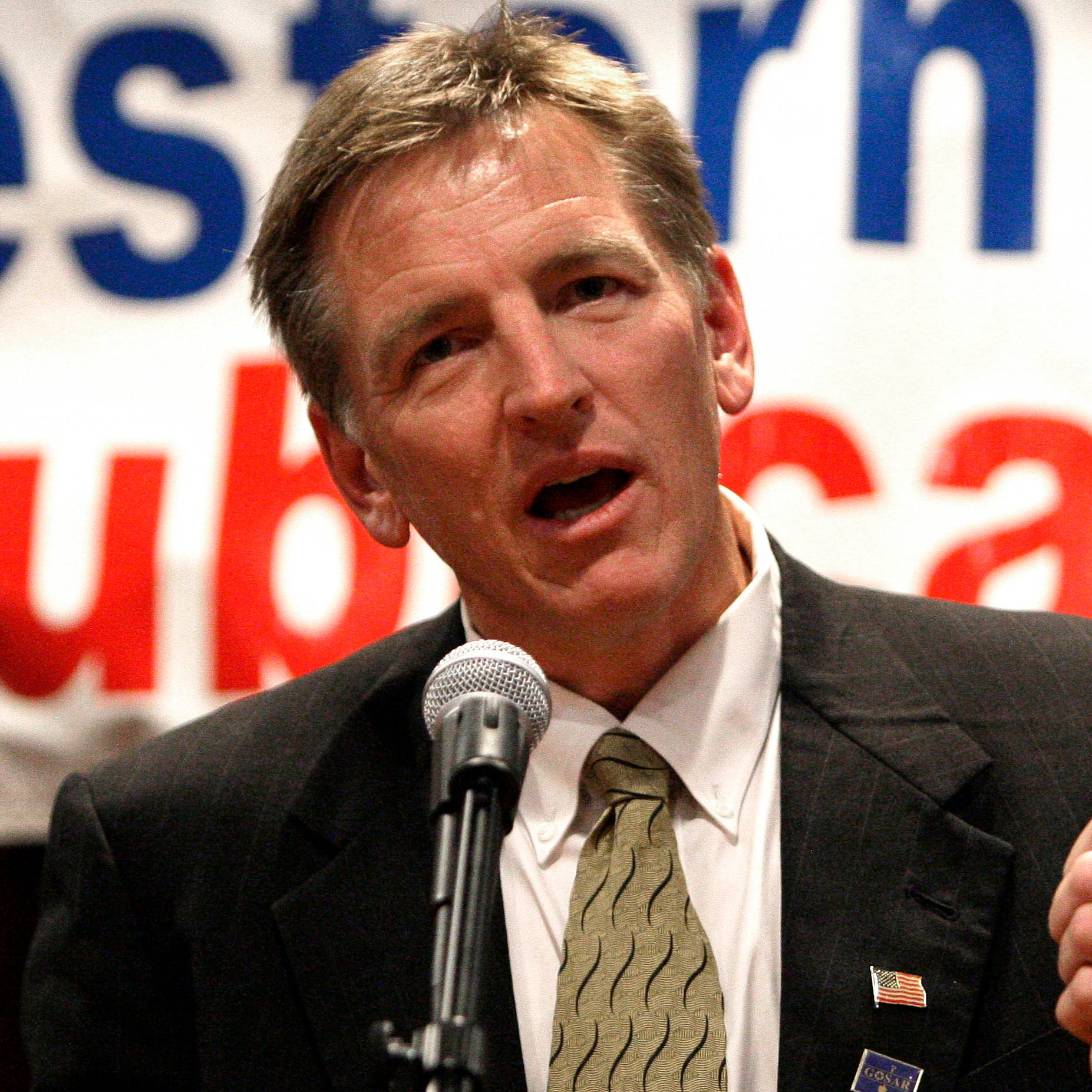 Republican Rep. Paul Gosar.