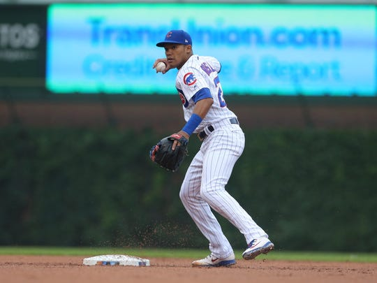 Addison Russell has been put on administrative leave by MLB.
