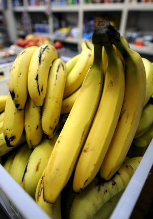 The port offered two pallets of bananas to the Texas Department of Criminal Justice because no one ever claimed them.