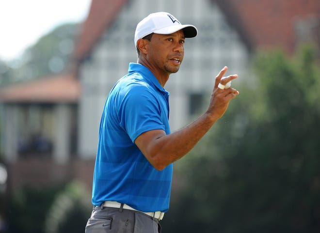 Tiger Woods has very rarely squandered a 54-hole lead in his career.
