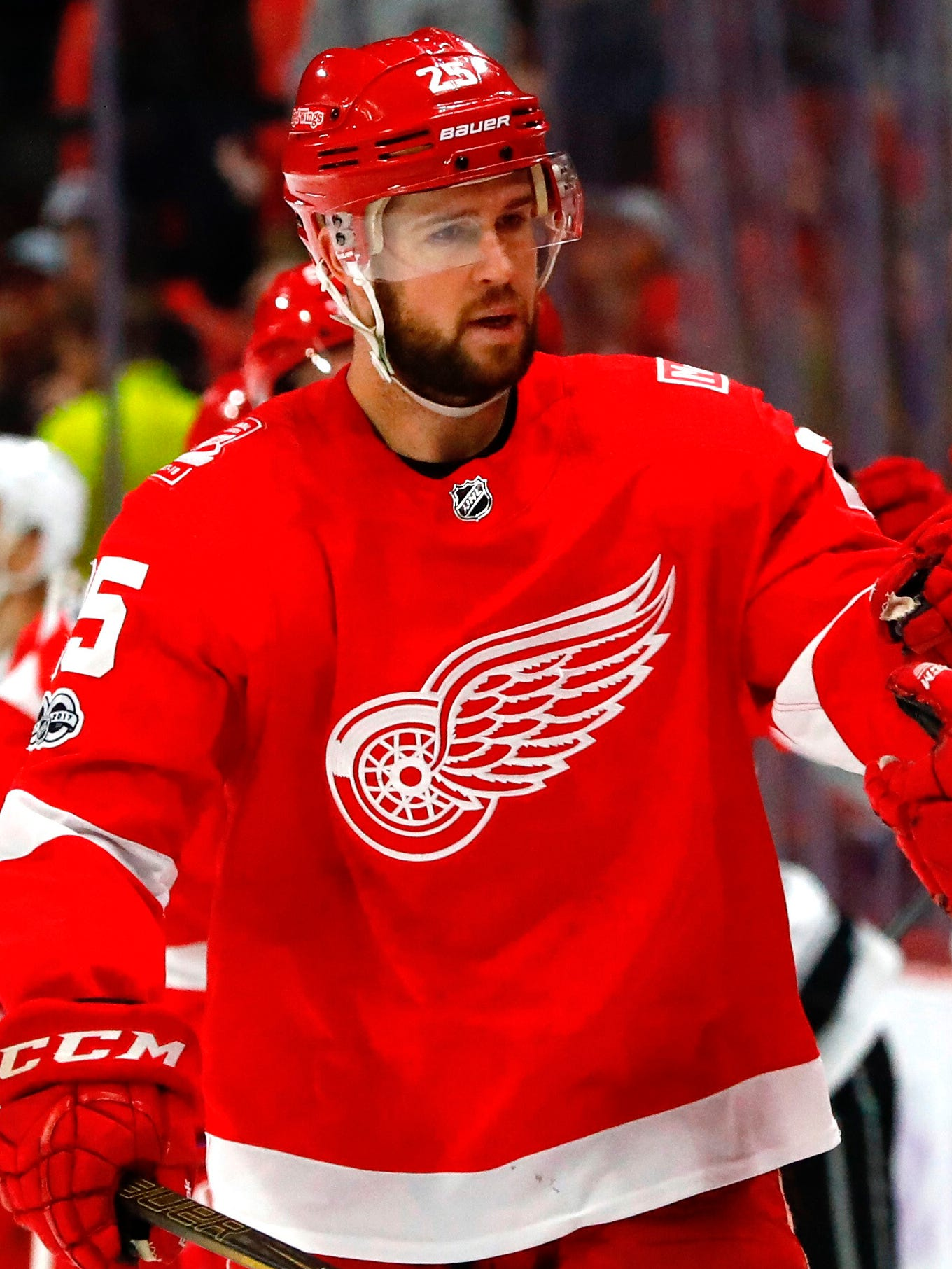 Mike Green led Red Wings defensemen with 33 points, even though he was limited to 66 games by injury.