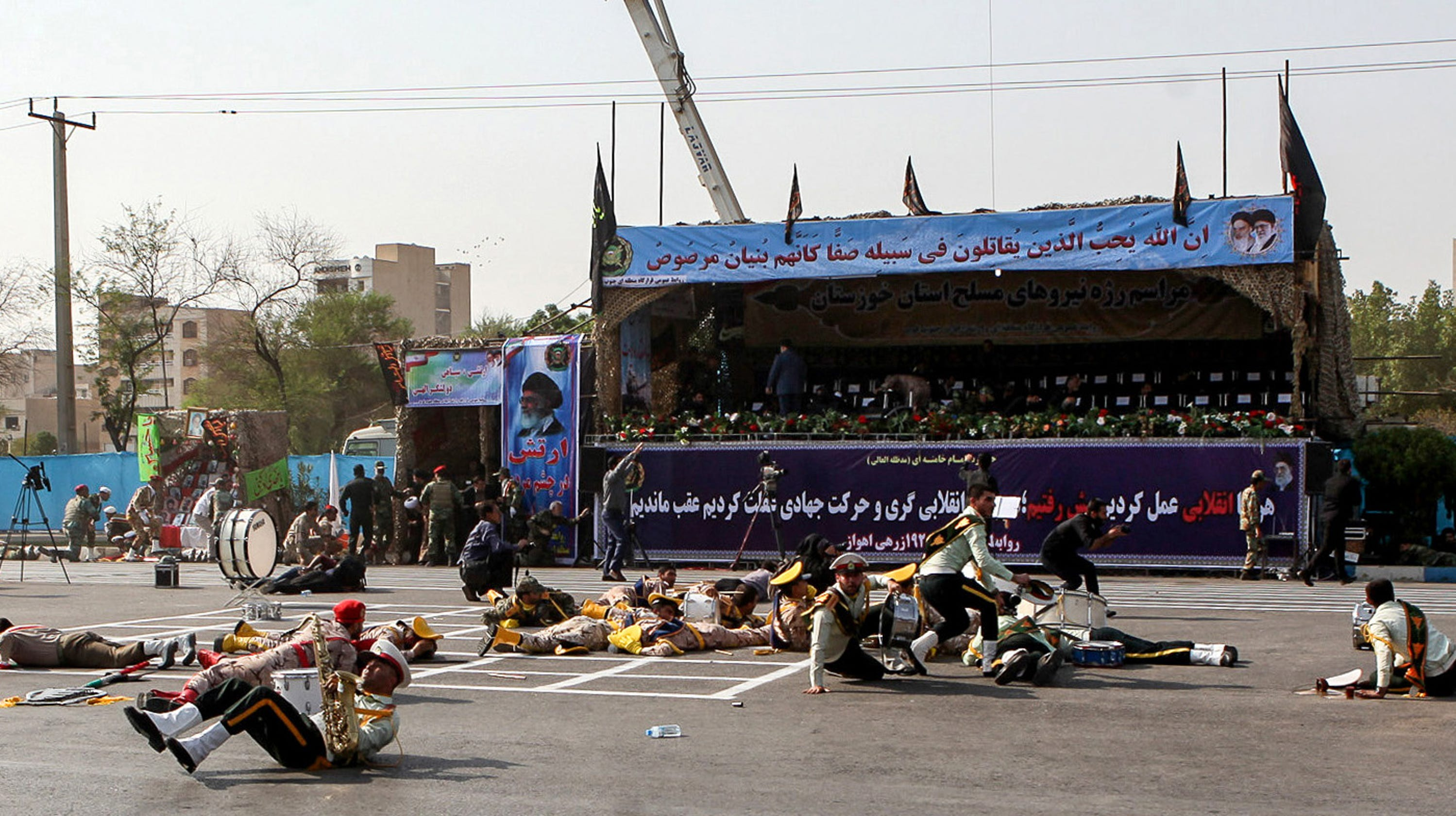 Iran parade: At least 25 dead as gunmen spray crowd in ...