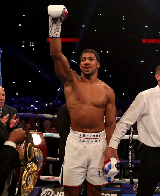 Anthony Joshua Knocks Out Alexander Povetkin: Round-by