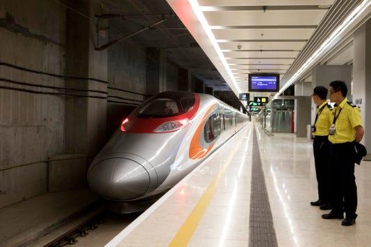 Ap Hong Kong Chinas Bullet Train I Hkg