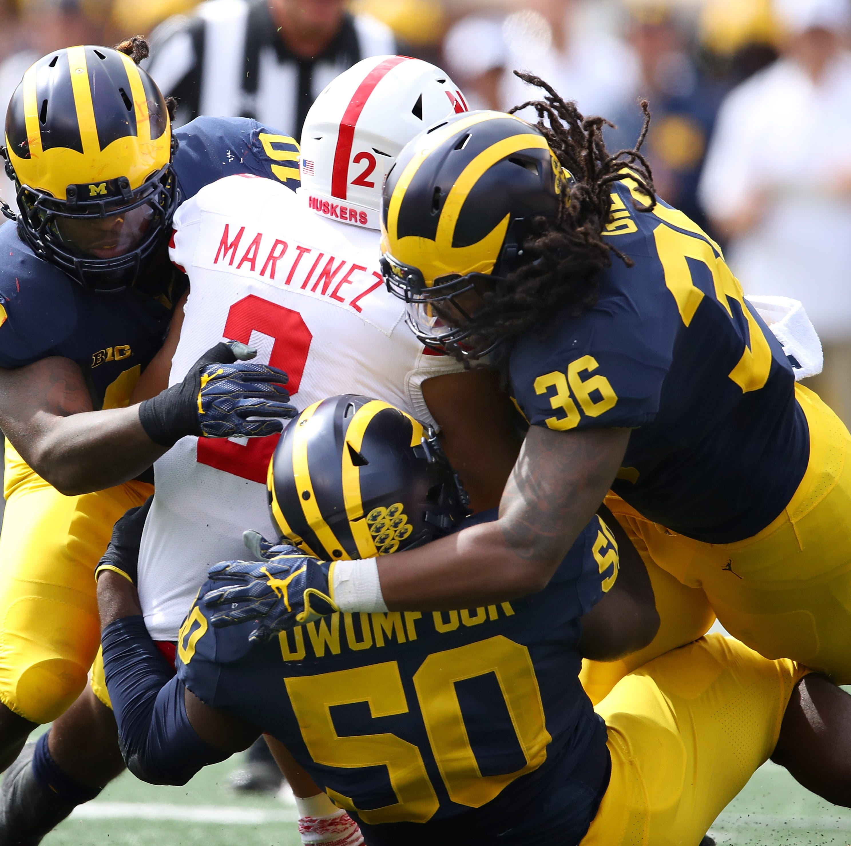 Michigan finally gives reason to believe in blowout of Nebraska