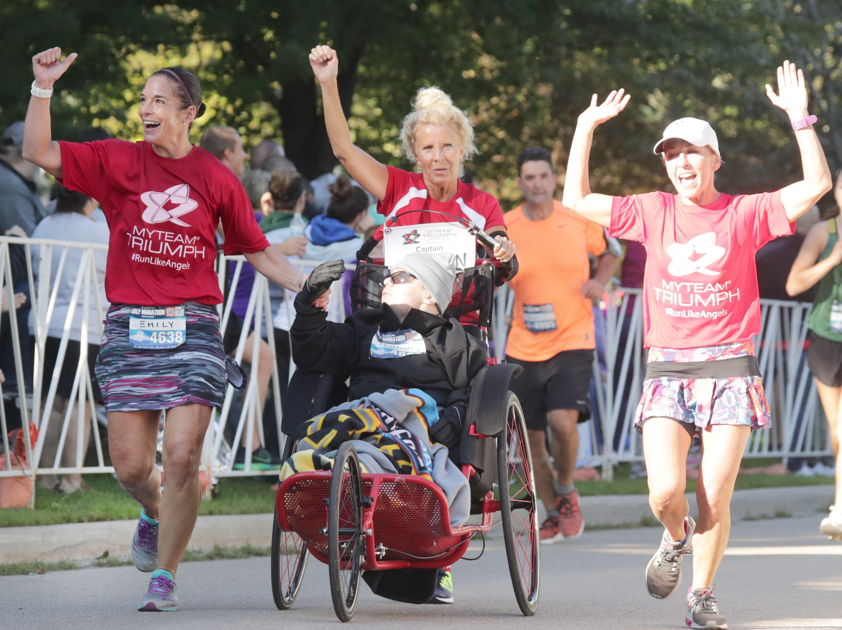 The 28th annual Community First Fox Cities Marathon on Sunday, September 23, 2018, in Neenah Wis. Wm. Glasheen/USA TODAY NETWORK-Wisconsin.