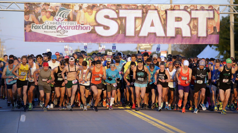 community first fox cities marathon appleton menasha neenah running