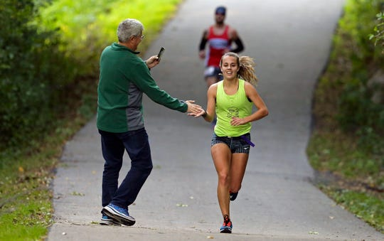 The Community First Fox Cities Marathon was held Sunday across the Fox Cities.