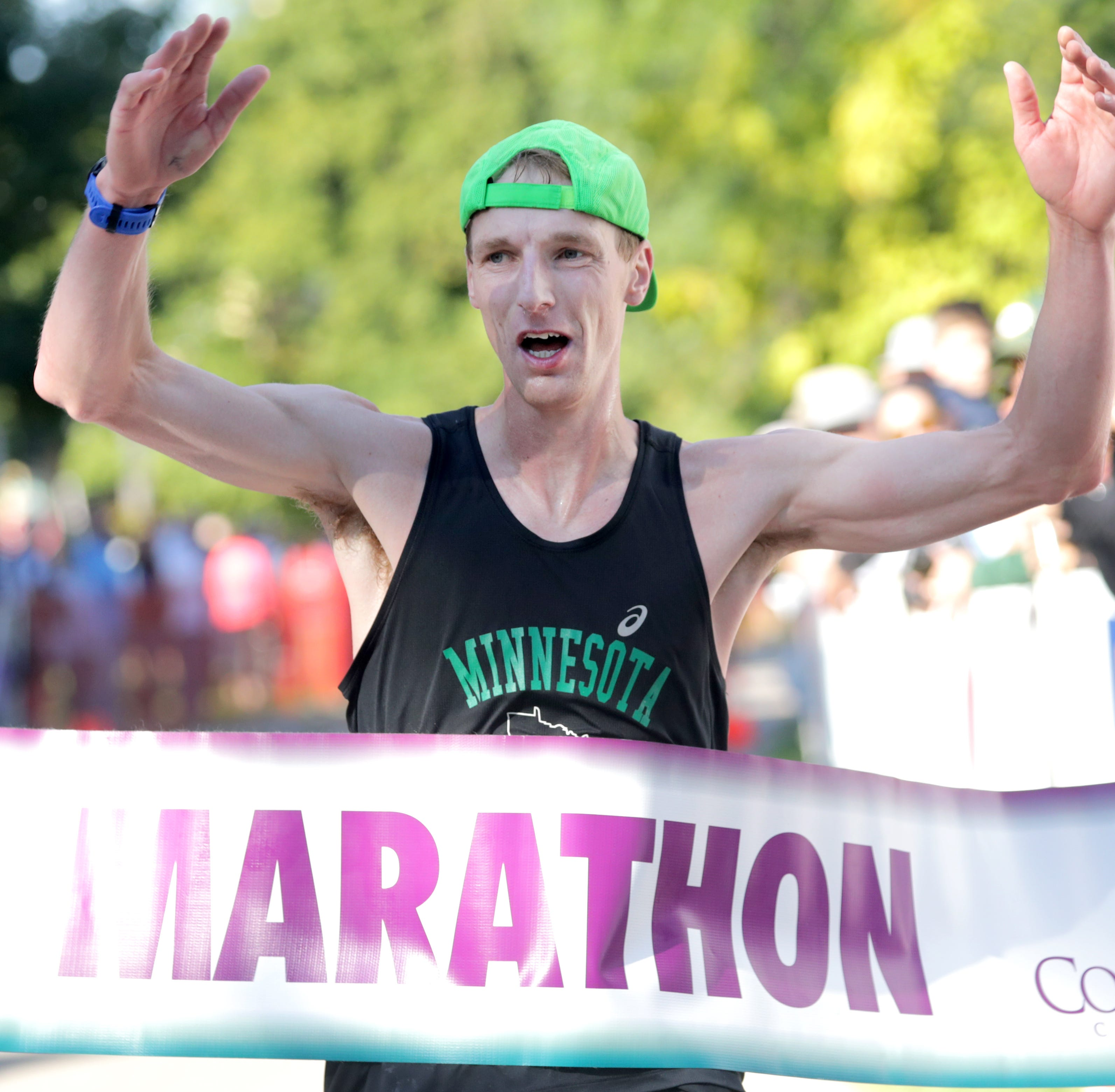 First-time winners Weispfennig, Derks top finishers in Fox Cities Marathon