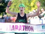 Scott Weispfennig talks about winning the Fox Cities Marathon.