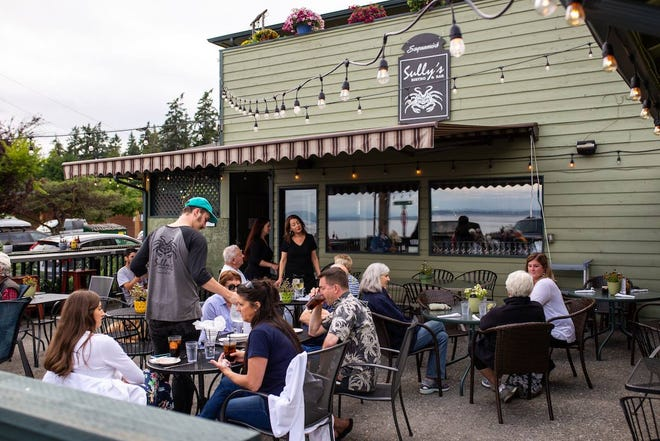 The patio at Sully's will be enclosed this fall to accommodate diners year-round.