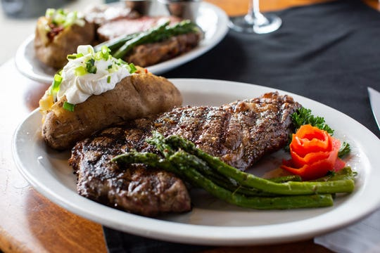 """The Big Fat Rib Eye"" is one of the more popular menu items for diners at Sully's."